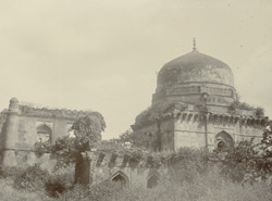 [Unidentified tomb at Mandu.]
